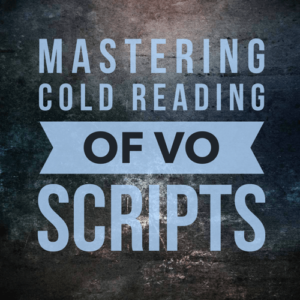 You don't get days or even hours to work with VO scripts – you're expected to turn around auditions, and head into the studio to perform, almost instantly. In this class, we'll look at how to instantly size up a script, make character choices, and balance speed with excellence.