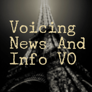 Like commercials, narration and IVR, the category of news and information products have a certain style and performance technique unique to the category. Traditional radio and television outlets have been joined by podcasts, satellite, cable, email blasts and other new connections, giving you an even greater opportunity to audition and land these lucrative jobs.