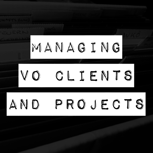 You certainly need to have terrific voicing skills to be a successful VO talent. But to compete effectively in today's entrepreneurial marketplace, you also need to have well-honed customer relationship skills. This class teaches you the procedures you'll need to handle VO projects, assets, revisions, billing and the care and feeding of your precious client base.