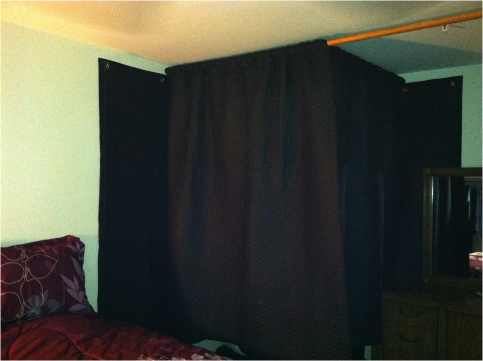 Hang Blanket On Wall if caroline can build a home vo studio, so can you | vo2gogo