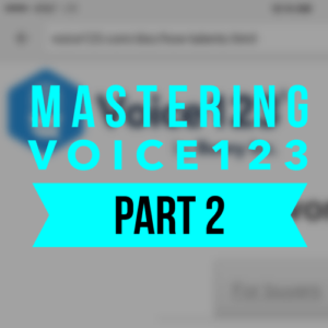 In this second of two classes on how to join, profile yourself, gain auditions and book work on Voice123.com, we look what to do with audition notices, taking advantage of premium membership, working with voiceseekers, how to maximize your chances of getting the right audition for you and what to do when you book work.