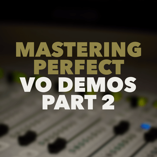 In this second half of our in-depth work on demos, we look at the tactics – the actual process with which your demo should be produced. Your demo should created with artful, world class production and distribution to the voice buying community.