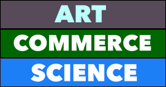 An art, commerce and science class